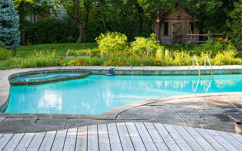 Pool Resurfacing Installation